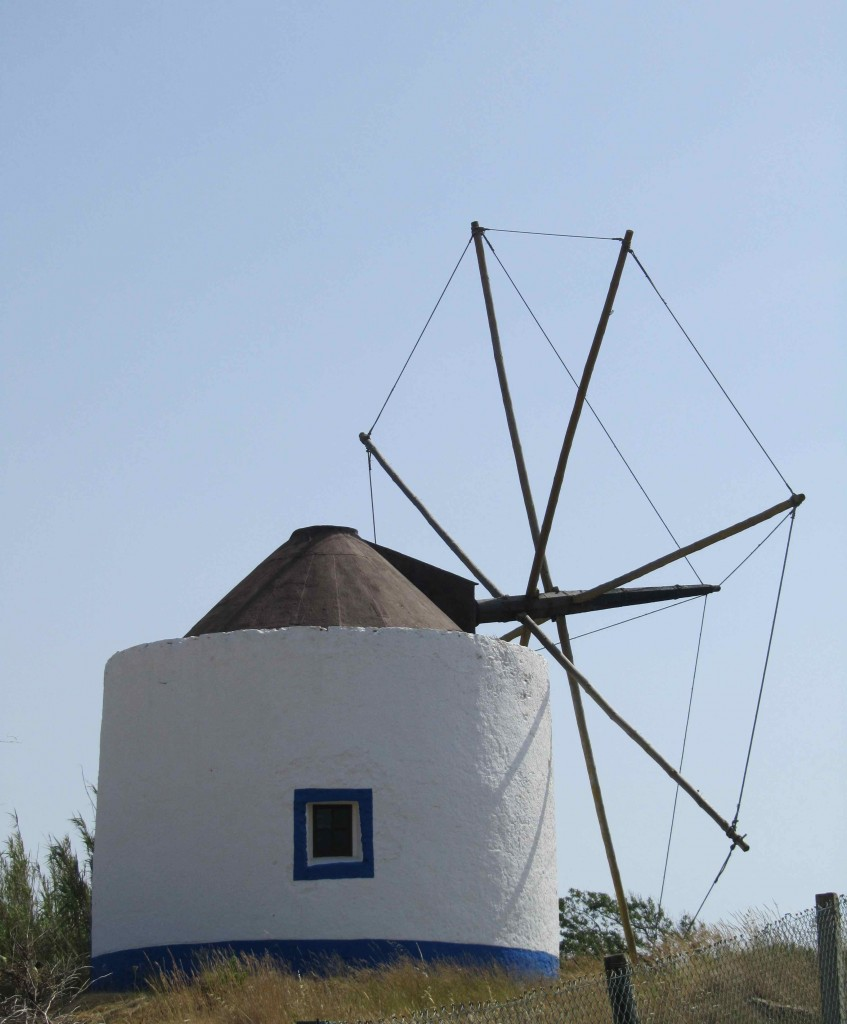 A typical Portuguese windmill