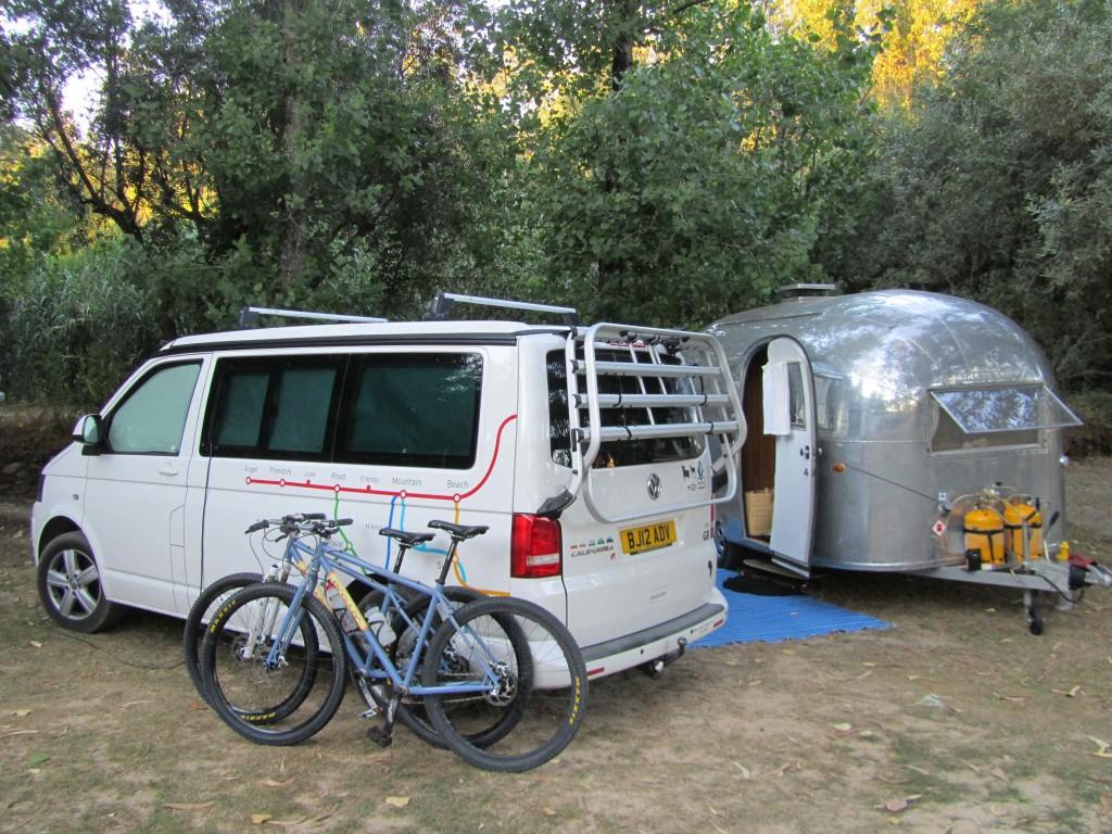 Our camp at Camping Pelinos
