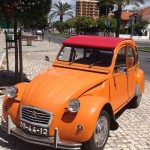 Gorgeous Citroen 2CV, Costa da Caparica