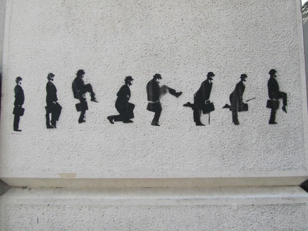 Monty Python appreciation, Coimbra graffiti