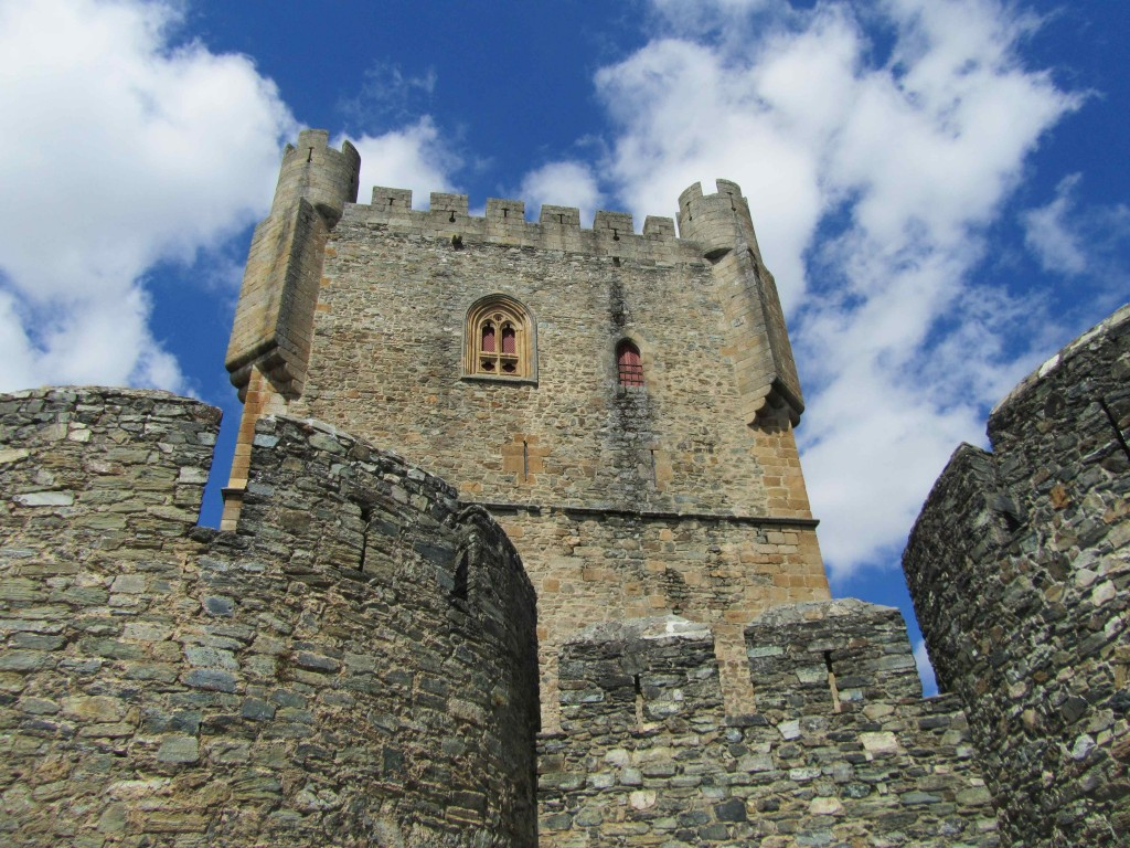 The castle in Braganca