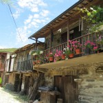 Typical village houses, Montesinho National Park