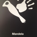 One of the 95 posters forming part of the Mandela Poster Project