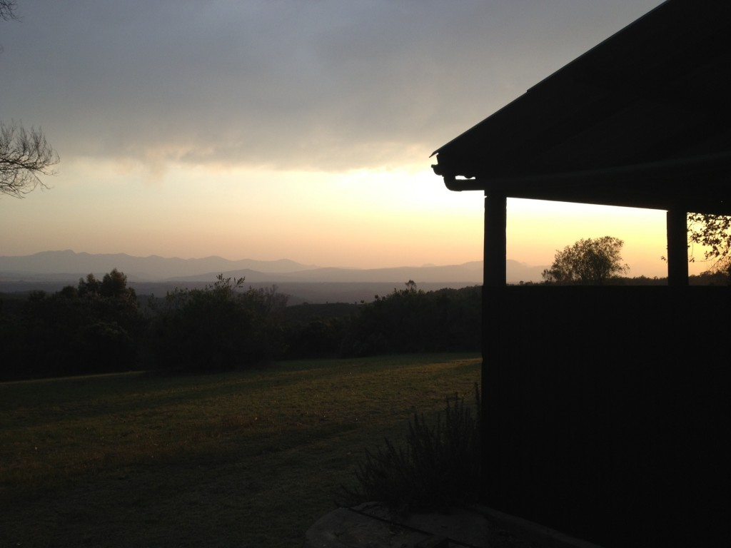 Sunrise at David's smallholding, Bosky Holt