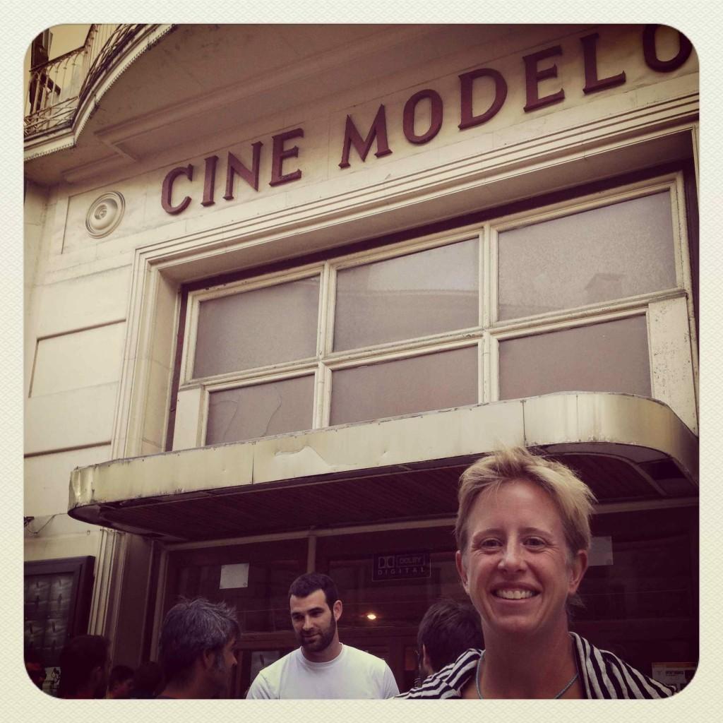 The Zarautz Surf Film Festival at the old Cine Modelo