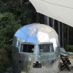 A 1949 Airstream, one of many beauties at BelRepayre Trailer Park