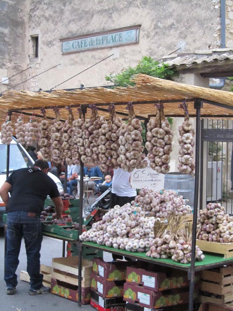 Market day in Eygalieres