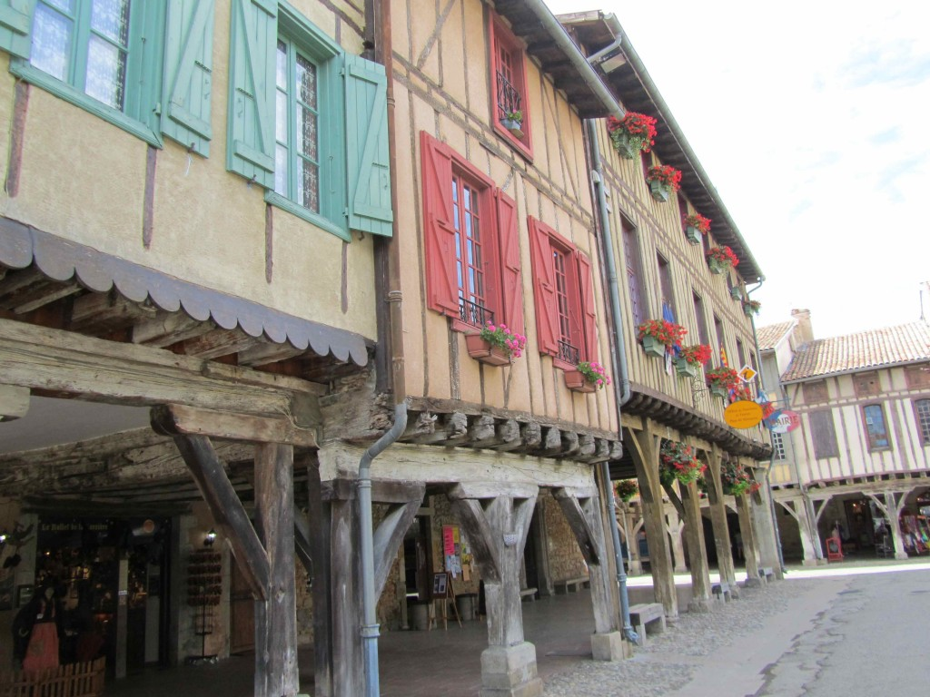 The medieval village of Mirepoix