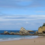 The iconic Villa Belza on Biarritz's famous surf beach
