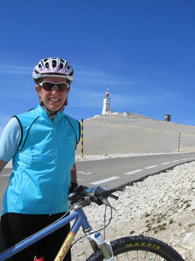 The lauzes on Mont Ventoux