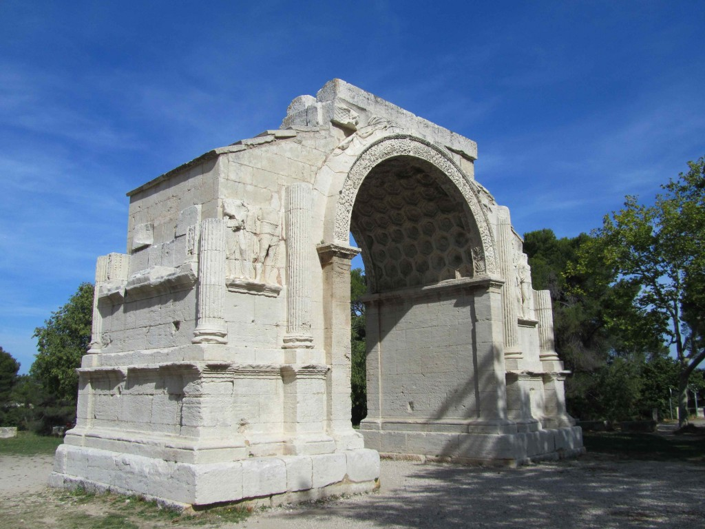 The triumphal arch at Glanum