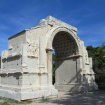 The triumphal arch at Glanum