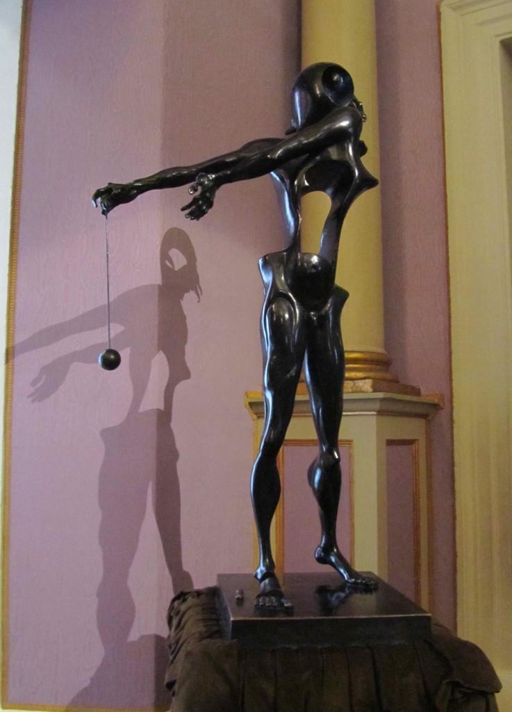 Dali sculpture at the Teatre Museu Dali