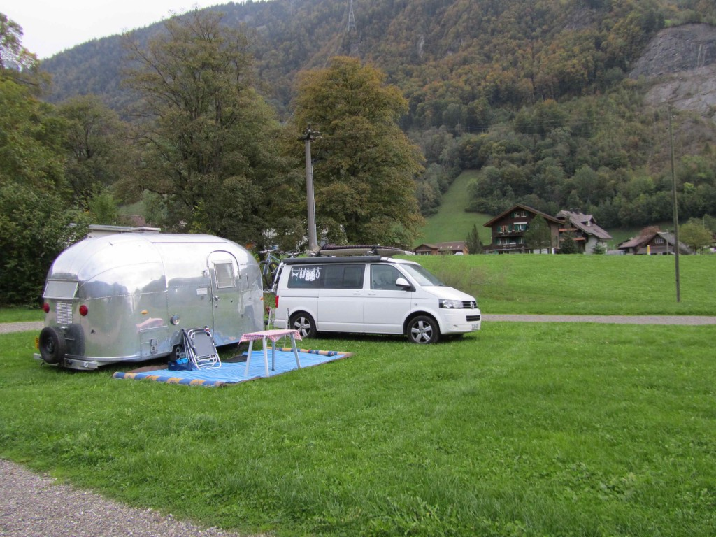 Camping Obsee, Lungern - empty but warm, clean, wonderful facilities