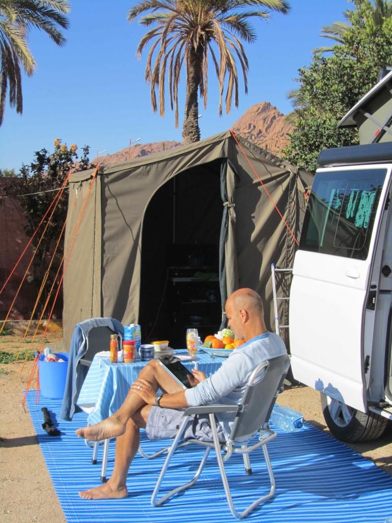 Camping Tazka, Tafraoute