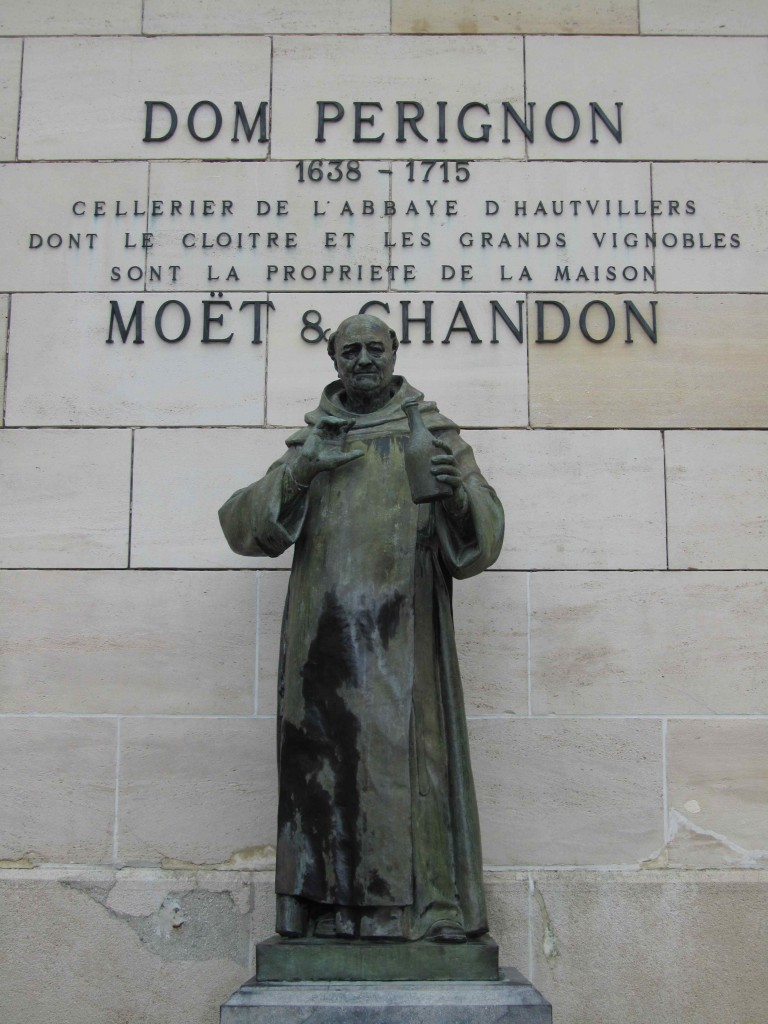 Dom Perignon - the monk who perfected the methode champenoise