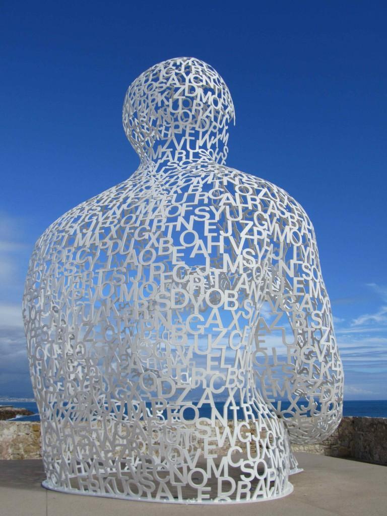 Jaume Plensa sculpture, Antibes