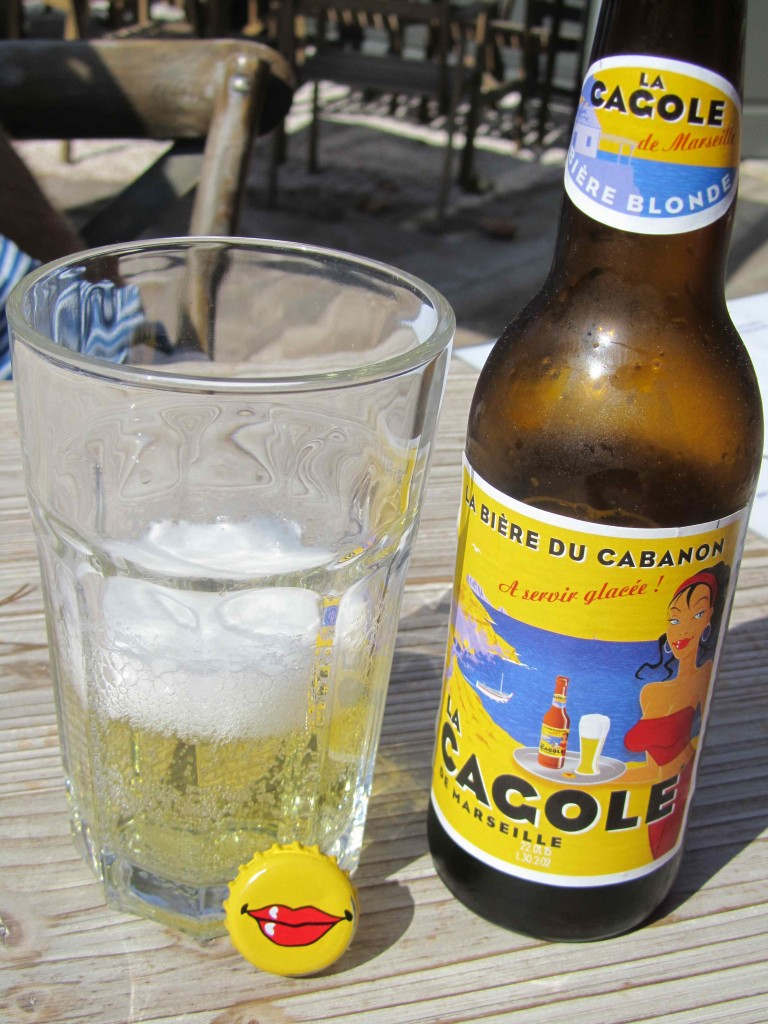 Local beer from Marseille