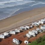 Motorhome hell - Camping El Barco, Sidi Ifni (can you spot Cali?)