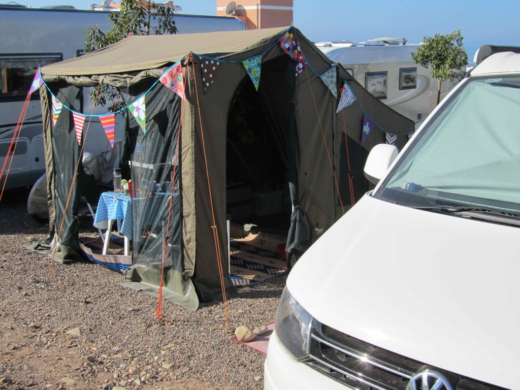 Nestled in a busy site, Camping Terre d'Ocean