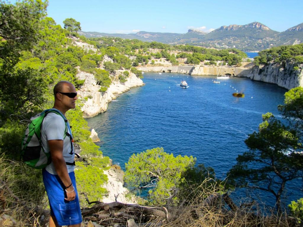 Overlooking the Calanque de Port Miou
