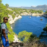 Overlooking the Calanque de Port Miou