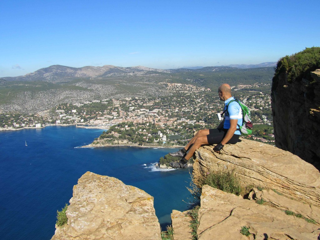 Sitting on top of the world, Cap Canaille