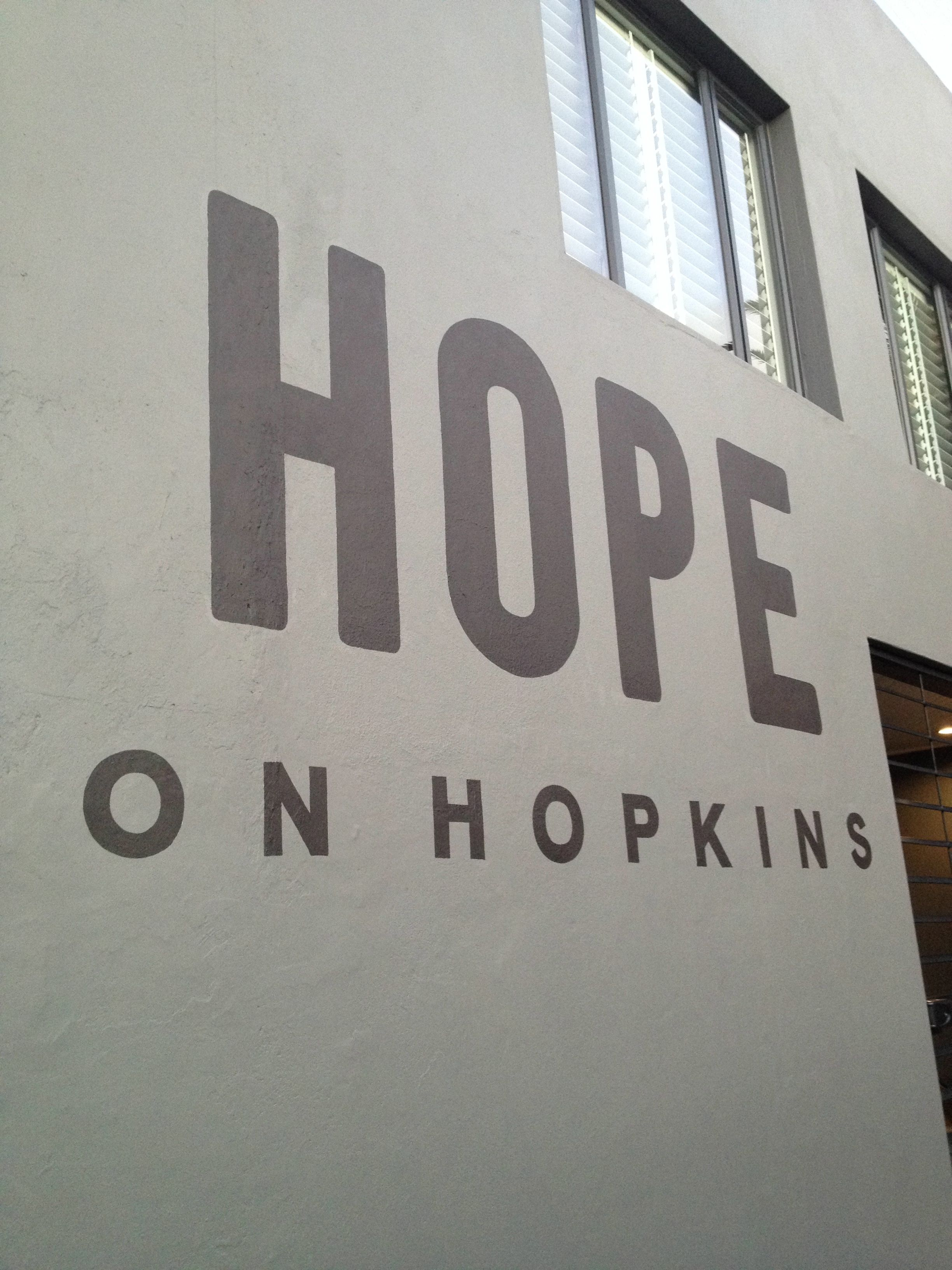 Hope on Hopkins